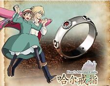 Cosplay Howl's Moving Castle Hauru ring 925 Sterling Silver