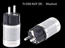 Furutech FI-E50 NCF (R) Schukostecker Netzstecker Rhodium (1 Stück)