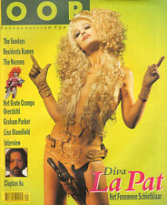 MAGAZINE OOR 1990 nr. 04 - CRAMPS/RESIDENTS/PATTY TROSSEL (COVER)
