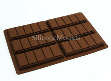 6 Cella 5 Chunk Chocolate Bar Candy Mold Professional Chocolatier Stampo in silicone