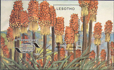 Lesotho 1996 RED HOT PORKERS/Aloes/Tourism m/s n14055