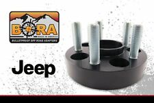 "Wheel Spacers 2016 Jeep Renegade (4) .75"" Spacers by BORA Off Road Made In USA"