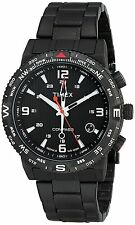 Timex Men's T2P288 Intelligent Quartz Adventure Series Black Stainless Steel