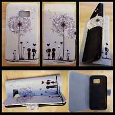 Samsung Galaxy S6 Edge wallet case / Dandelion case / have same 4 other galaxys