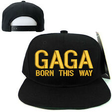 LADY GAGA SNAPBACK CAP HAT FANS SOUVENIR UNIQUE COLLECTIBLES