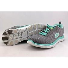 Skechers Next Generation Women US 8.5 Gray Sneakers Pre Owned  1868