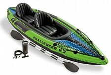Intex Challenger K2 Kayak - Yellow/Blue
