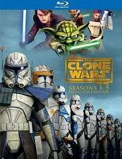 Star Wars:Clone Wars Complete Seasons 1-5(Blu-ray,15-Disc Set,Collector's Editio