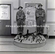 B/W 6x6 Negative 1950s Odeon Cinema film Advertising Private war of major Benson