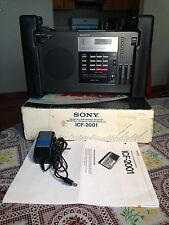 SONY FM/LW/MW/SW Receiver Model # ICF-2001 Good Condition.