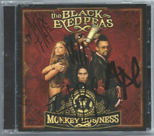 """Black Eyed Peas """"Monkey Business"""" CD Autograph Signed Auto Fergie Will.i.am"""