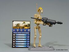 STAR WARS BATTLE DROID COMMANDER CLONE COLLECTION CW22 TCW SOTDS LOOSE