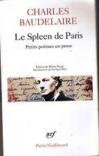 BAUDELAIRE * Le Spleen De Paris * Poèmes en prose  * texte intégral * poésie