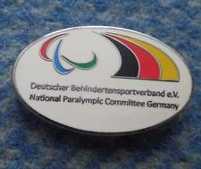 NATIONAL PARALYMPIC COMMITTEE GERMANY OLYMPIC ENAMEL PIN BADGE