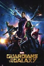 Guardians of the Galaxy Poster 24x36 Movies Guardians of the Galaxy (2014)