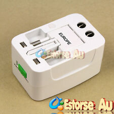 Universal Travel Multi-purpose AC Power Adapter Plug AU/UK/US/EU