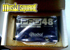 Radial PRO 48 Active Direct Pro48 DI Box Acoustic Guitar/Bass/Keyboard *used*