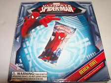 "Marvel Spiderman Beach Mat 47"" x 24"" Pool Float with Repair Patch. Fast Ship!"