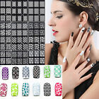 Nail Art Manicure Stencil Stickers Stamping Nail Tips Vinyls