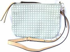 KELSI DAGGER Suede Leather CrossBody Green Studs CICELY Bag