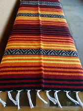 Peyote Serape Blanket ONWPT-12 Southwest Southwestern Mexican Afghan