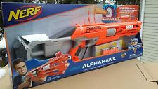 NEW NERF ALPHAHAWK ELITE ACCUSTRIKE SERIES DART GUN BLASTER TOY