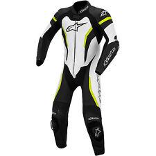 Alpinestars GP Pro One Piece Leather Race Suit Size 46 Color Black/White/Yellow