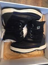 2007 VISVIM DECOY DUCK BOOT Size 9 Black/blue