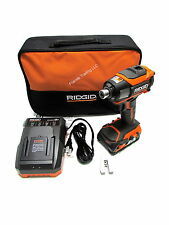 Ridgid 18 Volt 18V GEN5X Lithium Ion 3 spd Impact Driver Drill R86035 Kit NEW