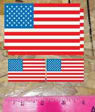 USA Flag Sticker vinyl car bumper decal outdoor United States America 4 for 1