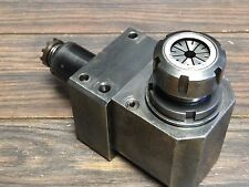 NICE CINCINATI MILACRON  RIGHT ER32 COLLET LIVE TOOL HOLDER W/ 40MM SHANK