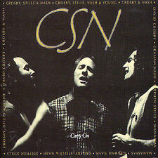 Carry On by Crosby,Stills & Nash (CD, 1999, Atlantic) 2 Disc 36 Tracks Like New!