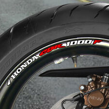 8 x CBR1000F Wheel Rim Sticker Decals Choice of Colours Cbr 1000 F