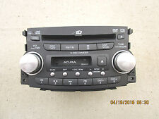 04 - 06 ACURA TL 6 DISC CD DVD PLAYER CHANGER CASSETTE RADIO P/N 39100-SEP-A410