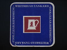 WHITBREAD TANKARD COOL CLEAR REFRESHING COASTER
