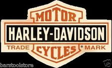 Harley Davidson Bar & Shield Embossed Enamel Tin Metal Sign Motorcycle 131
