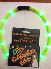 Animate parpadeante banda - LED recargable collar de perro caza