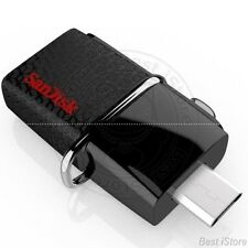 SanDisk Ultra Dual OTG Micro USB Adapter 64GB Memory Stick Flash Drive For Phone