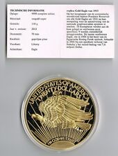 USA 1933 GOLD DOUBLE EAGLE 110 GRAM replica PROOF
