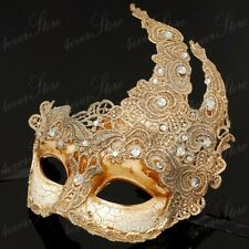 Toga Party Special - Venetian Goddess Masquerade Mask Made of Resin - Ivory