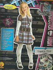 Frankie Stein Girls MONSTER HIGH Rubie's Halloween Dress Up Costume Size L 10-12