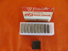NEW OLD STOCK  FUTURMILL SLB-7 DMC32  CARBIDE BLADES INSERTS FULL BOX OF 10