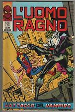 L' UOMO RAGNO corno # 103  L' ATTACCO DEL VAMPIRO !  hulk  ant-man