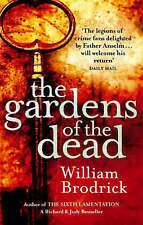 NEW The Gardens of the Dead by William Brodrick crime / thriller paperback book