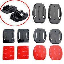 8Pcs Helmet Flat Curved Adhesive Mount Accessories For Gopro Hero 1/2/3 /3+ Kit