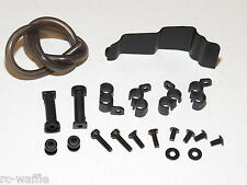 TKR5304 TEKNO RC NB48.3 1/8th COMP NITRO BUGGY FUEL TANK MOUNTING KIT WITH HOSE