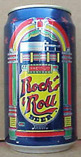 ROCK & ROLL BEER with JUKEBOX blue CAN, Philadelphia, PENNSYLVANIA 1985 Grade 1