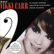 The Best of VIKKI CARR -  2004 EMI CD - 20 songs import