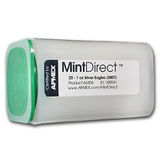 2007 1 oz Silver American Eagles - 20 Coin MintDirect® Tube
