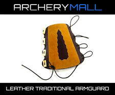 Leather Traditional Archery Armguard